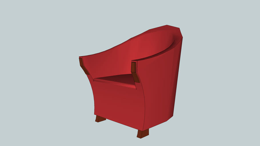 Truncated Cone Lounge Chair