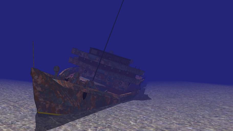 Relitto di una nave