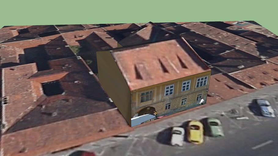 Building on Grigoras Dinicu street, Brasov