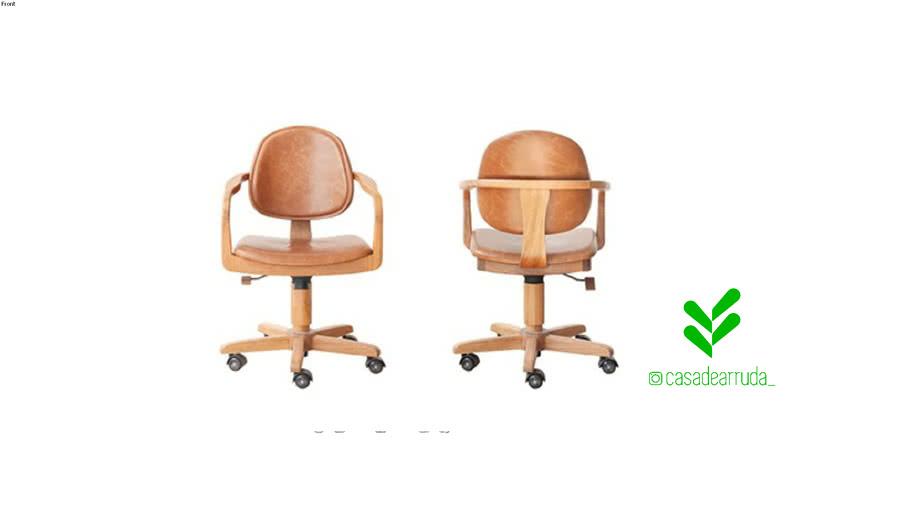 Cadeira Omar Office - Rejane Carvalho Leite