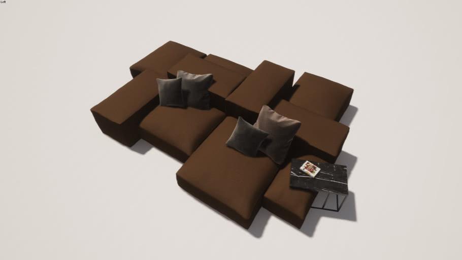 Living Divani Extra Soft modular sofa