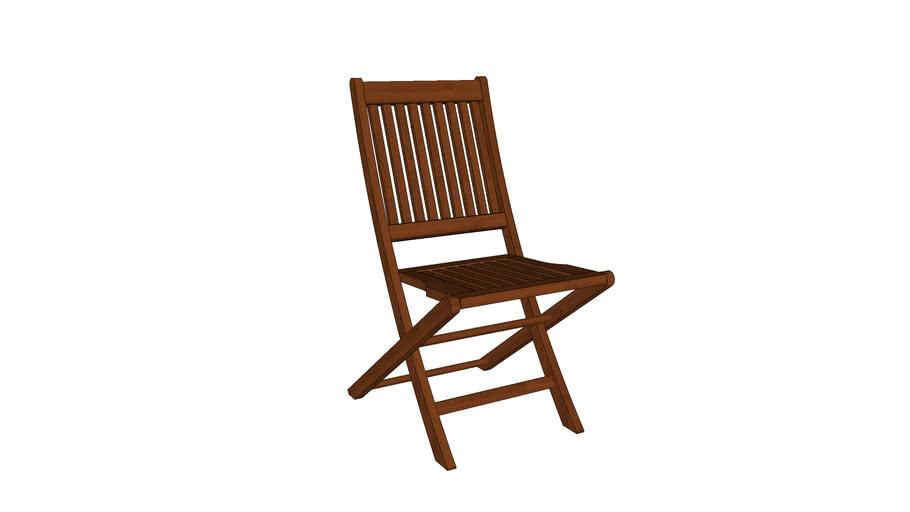Cadeira Dobrável Ipanema sem braço