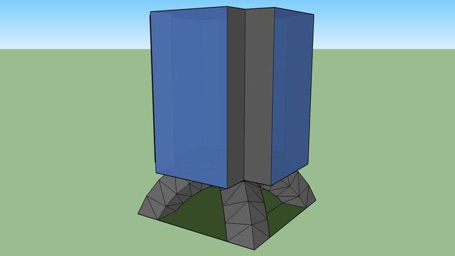 Quad-Pod building