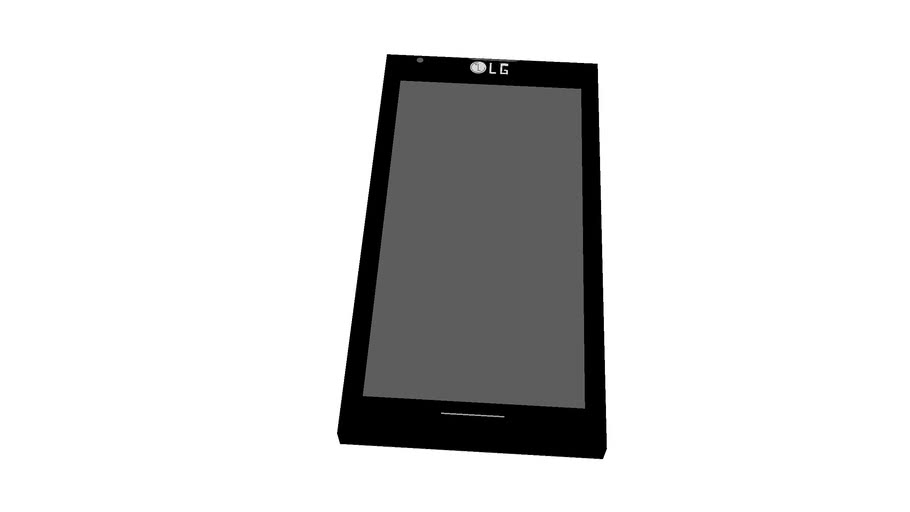 Smartphone Optimus L7 (Tamanho Real !)