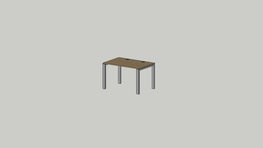 No.1 working table 1200x800 grommet