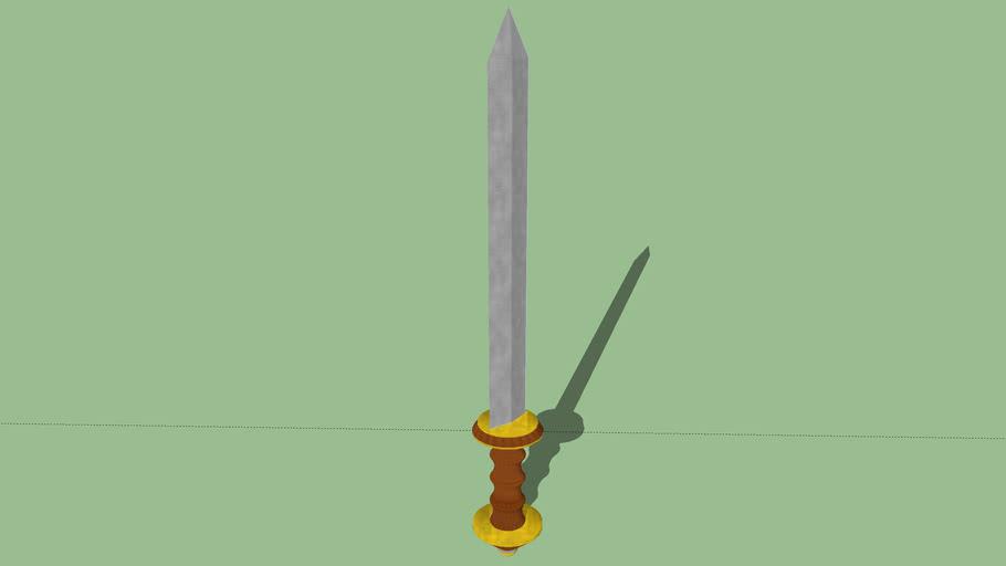 Gladio romano (roman sword)