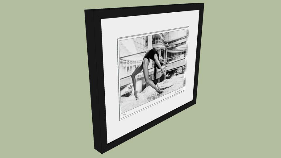 "BRODZIAK ""Ballerina #11"" 46x38 cm - Black&White, Photography, Image, Picture"