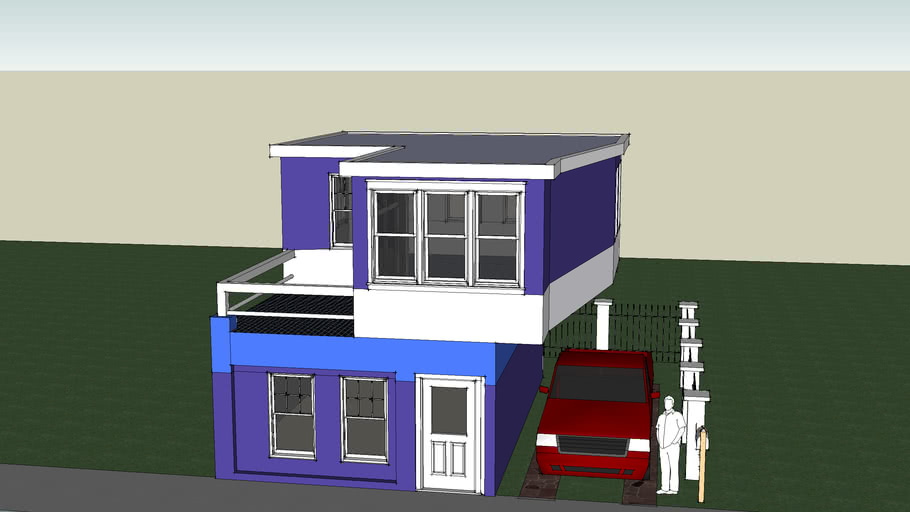 squarish house