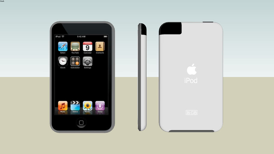iPod Touch | 3D Warehouse