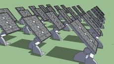 Sustainable Energy Sun Panels.