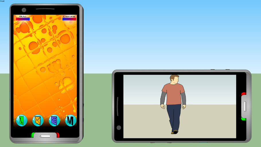 Mobiltelefon, cell phone, portable  (MPG-T9802)