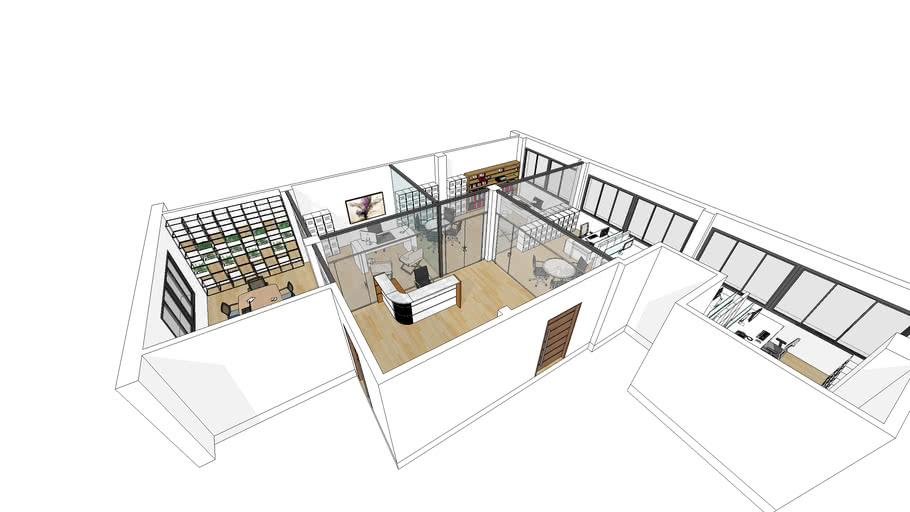 Proyecto de oficinas en Vallecas