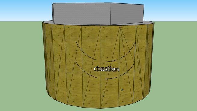 cbastien cylindre bois