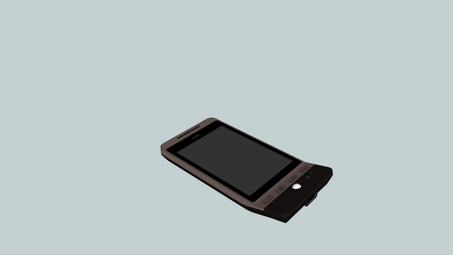 HTC Hero Brown Android Phone  (Fixed)