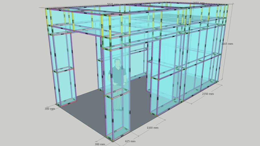 B-Lock - 3M x 6M Booth - 05