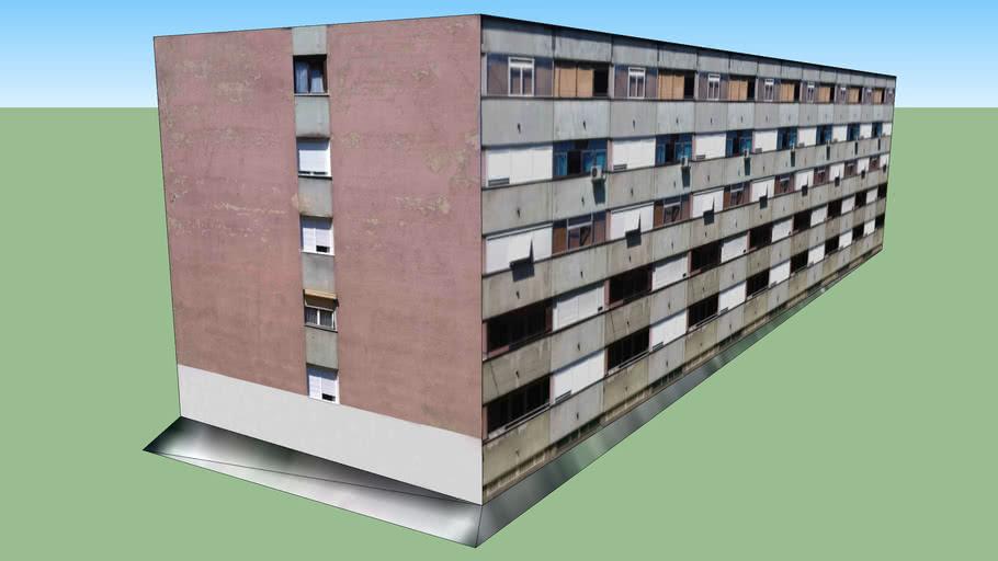Srednnjaci - Zgrada