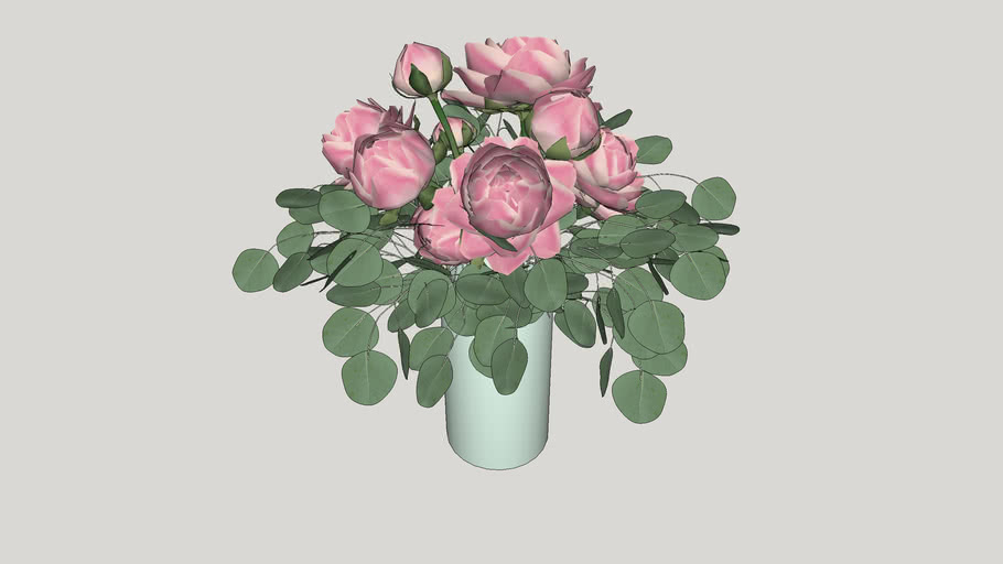 Vase. Flowers Bouquet. The decor. Ваза. Цветы. Букет. Декор.