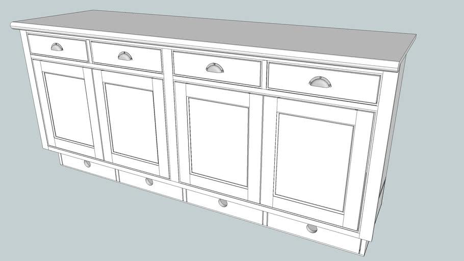 4 door base cabinets - final