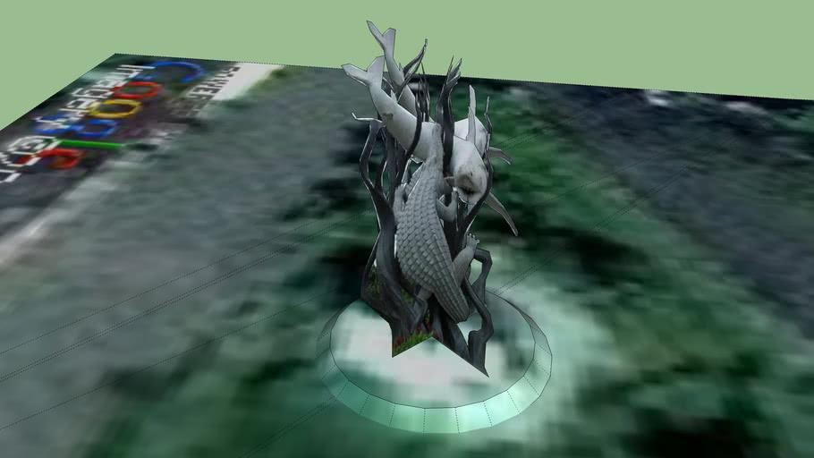 Patung Sura dan Buaya