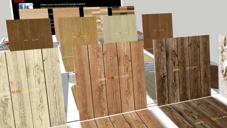 กระเบื้อง Digital Printing HD Ceramic Tiles ActUEarn3D Catalogue Part015