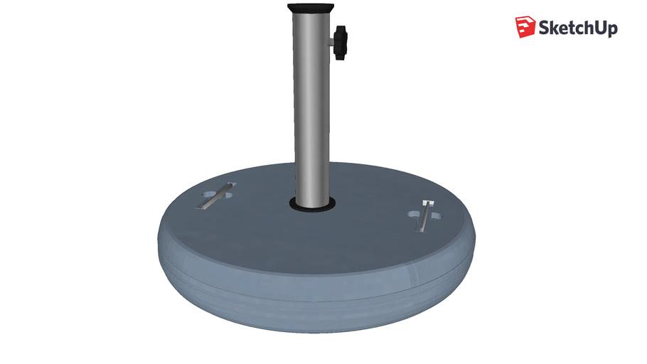 Base de concreto 40kg-Wupa