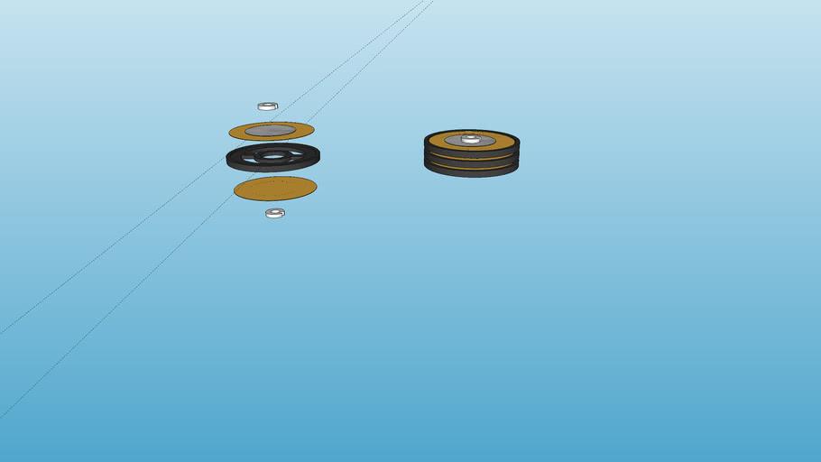 Piezo buzzer actuator V4