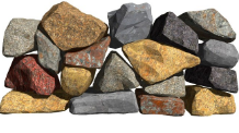 Rocks, stones and boulders