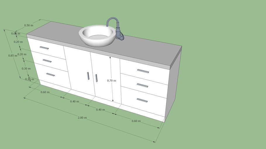 mueble lavamanos. bathroom furniture