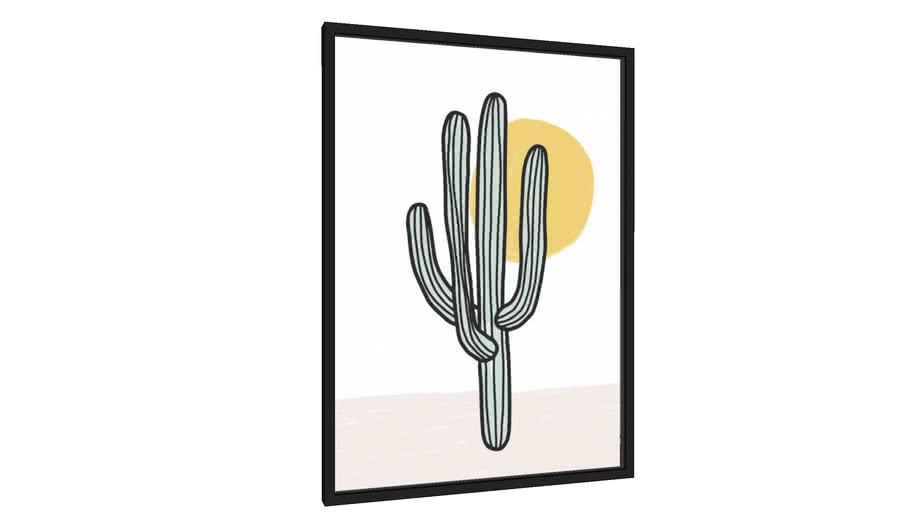 Quadro Deserto - Galeria9, por Rachel Moya