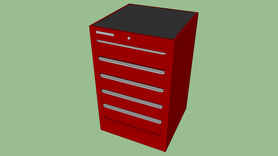 BF-063 - Tool Storage Cabinet w/ 5 Drawers