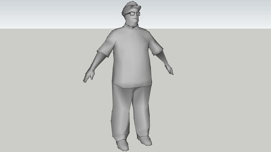 GTA SA - BIG SMOKE (untextured)