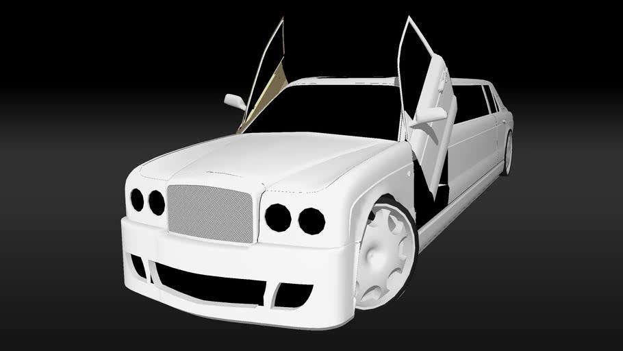 Modified Bentley Arnage Limo
