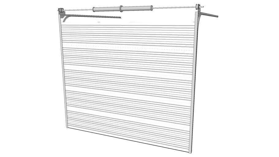 AMARR 2002|2012|2022 Ribbed Panel Steel Door