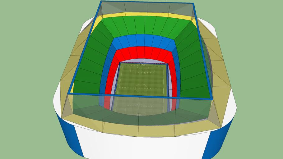 Massive Football Stadium