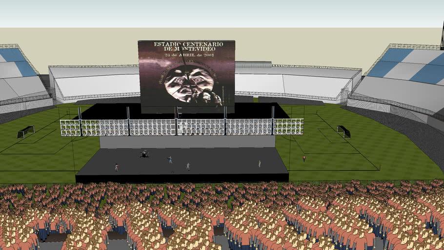 Patricio Rey Y Sus Redonditos De Ricota en el estadio centenario