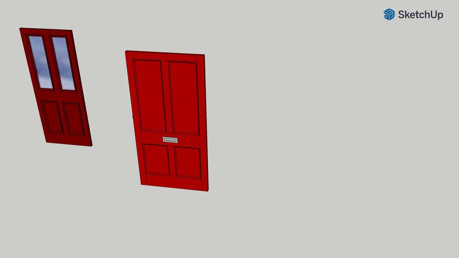 Guy Front Door