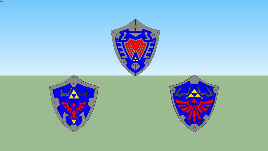 Escudos - The Legend of Zelda
