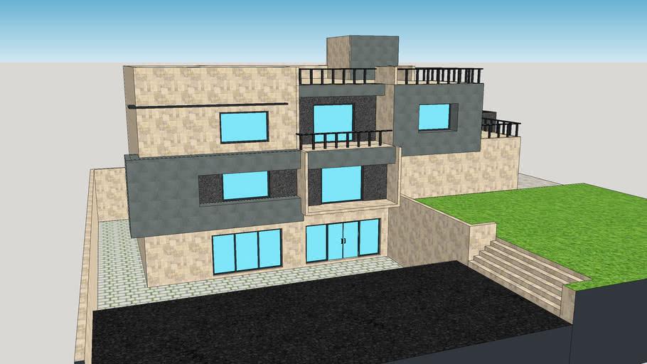 House design Exterior Model