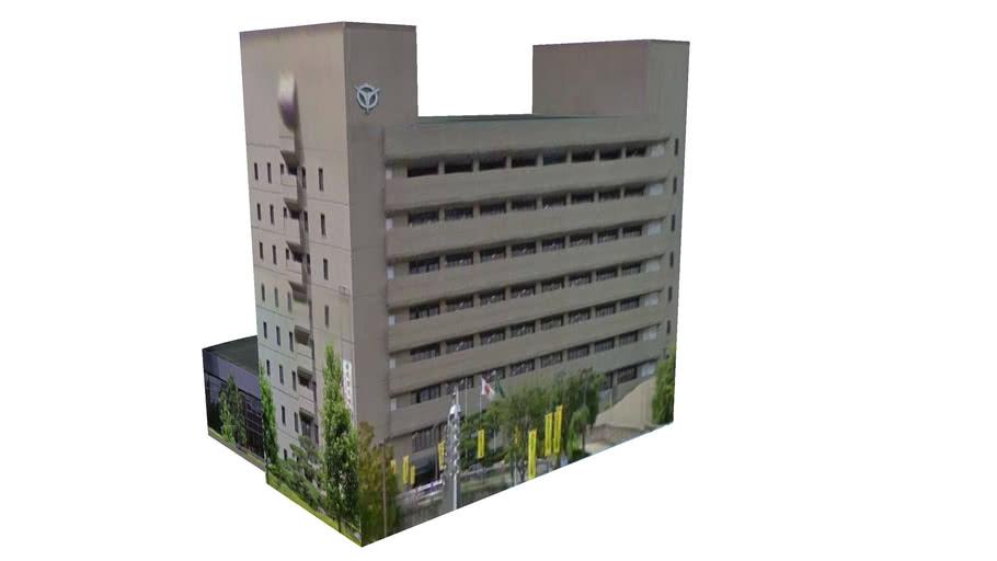 Building in Uji, Kyoto Prefecture, Japan