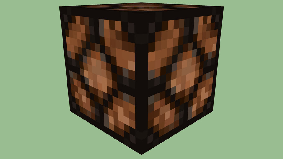 Minecraft Redstone Lamp (OFF) by Zapperier