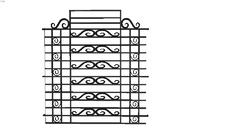 rejas o verjas, ventanas y puertas