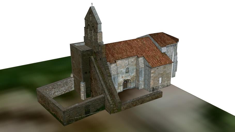 Iglesia románica de Santa María de Retortillo. Cantabria