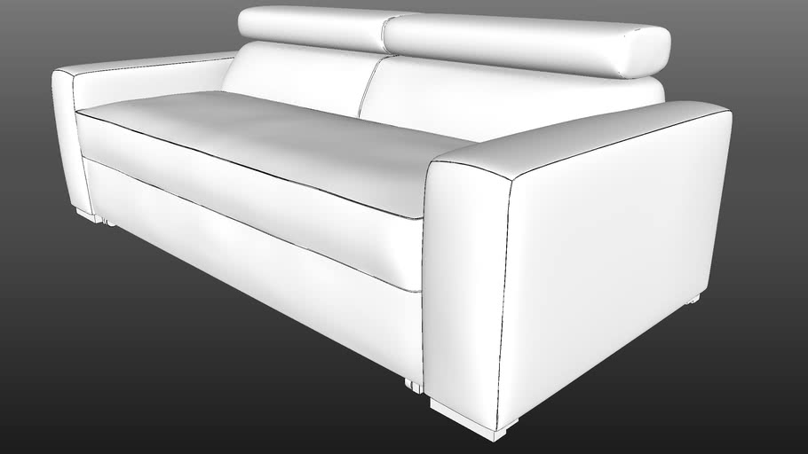 IWC|HOME - OCTAWA sofa hi-poly