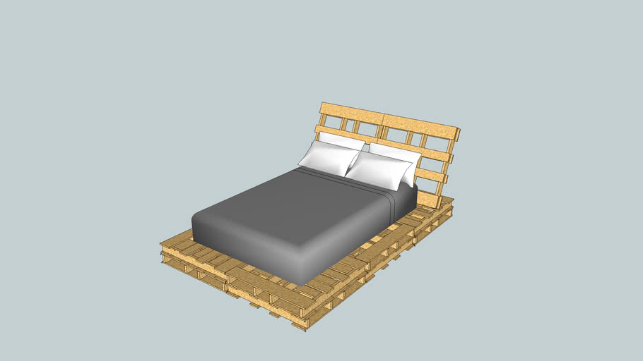 Pallet Bed for Potato