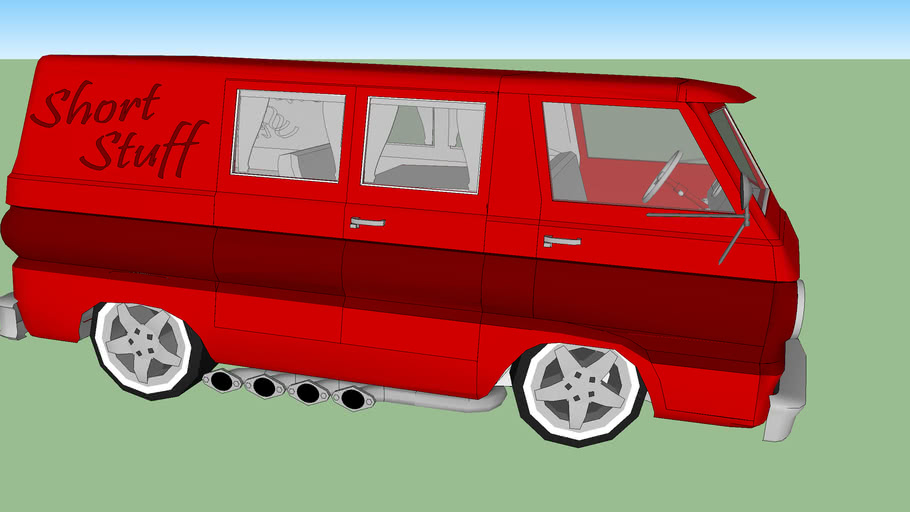 '66 Dodge A100 ''Short Stuff''