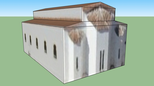Budova na adrese Peristeri, Řecko