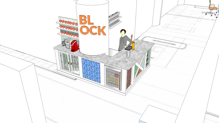 Block Bar V.2 W/ Floor Plan
