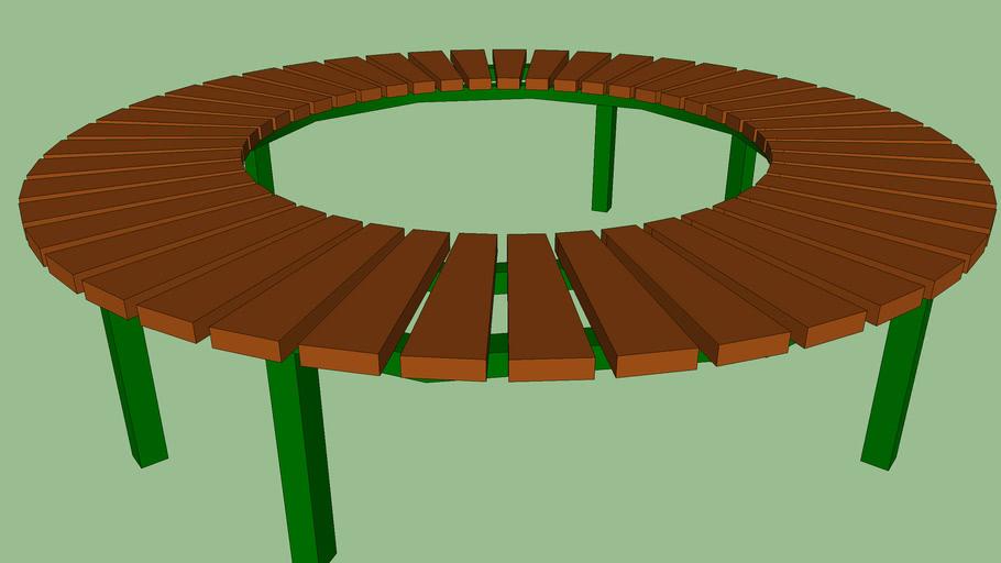 Panchina rotonda