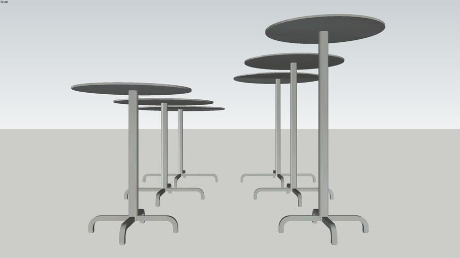 Emeco 20-06™ ROUND TABLES by Foster + Partners