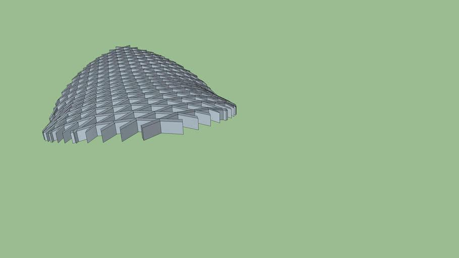 lattice roof